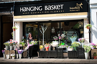 The Hanging Basket Shop Front