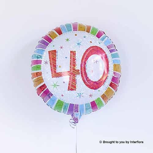 40th Birthday Balloon