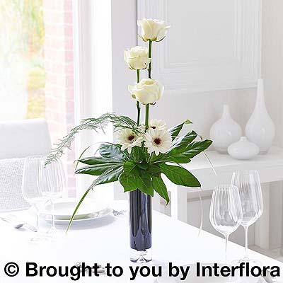 Rose & Germini Vase