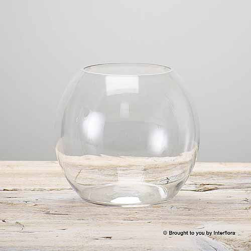 Glass Globe Vase