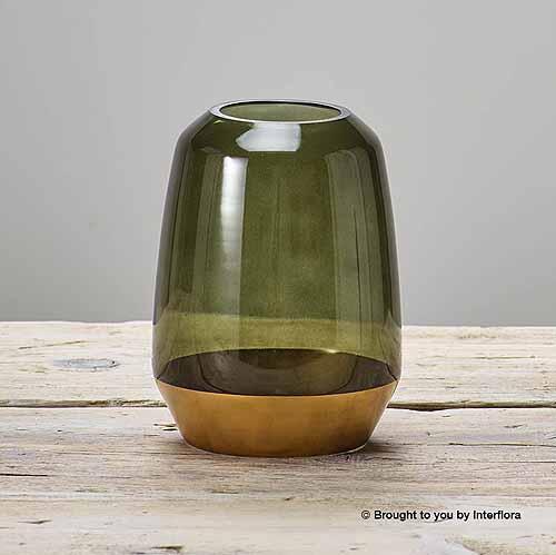 Contemporary Green Vase