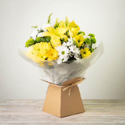 Simplicity Hand-tied (Yellow)