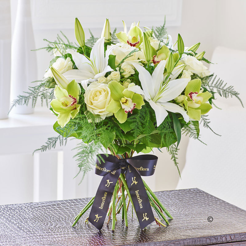 Cymbidium Orchid & Lily