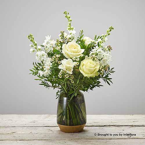 Fragrant Whites Vase